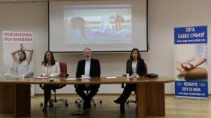 Konferencija za medije, Joga savez Srbije 2017