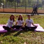 joga u humanitarnoj akciji