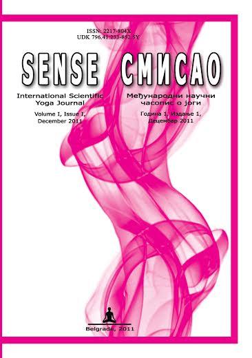 Naučni časopis o jogi Smisao, 2011.