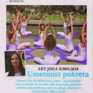 "Milica Zorić, Art joga Similiris, ""Yoga"", 2015."