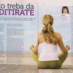 """Bosiljka Janjušević, """"Zašto treba da meditirate"""", Dijabetes, mart/april 2015."""