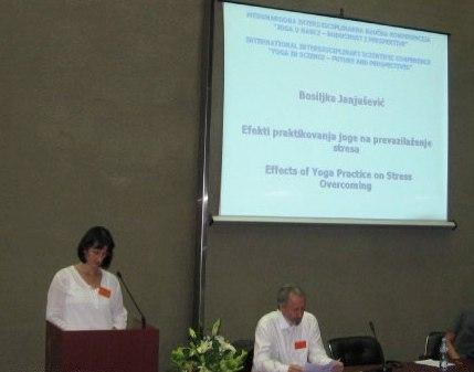 Bosiljka Janjusevic Joga Konferencija 2010 3