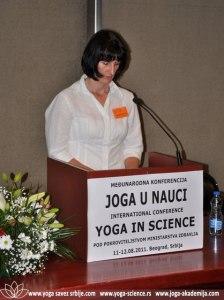 Bosiljka Janjusevic Joga Konferencija 2011 3