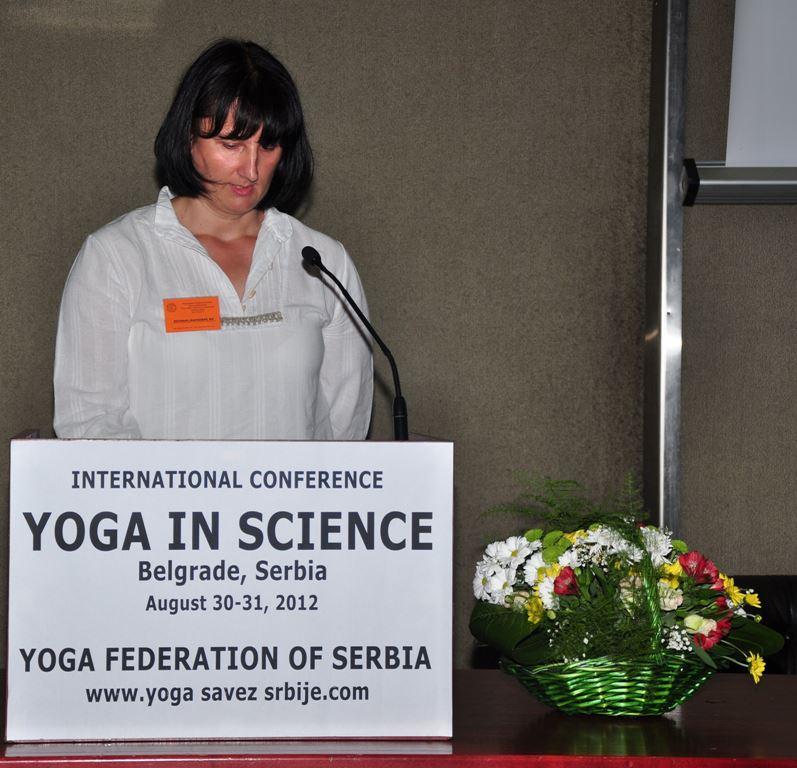 Bosiljka Janjusevic Joga Konferencija 2012