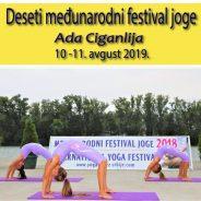10. Međunarodni festival joge – Srbija 2019.