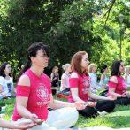 """Akcija besplatnih časova joge u """"Joga parku"""" na Adi – 2021."""