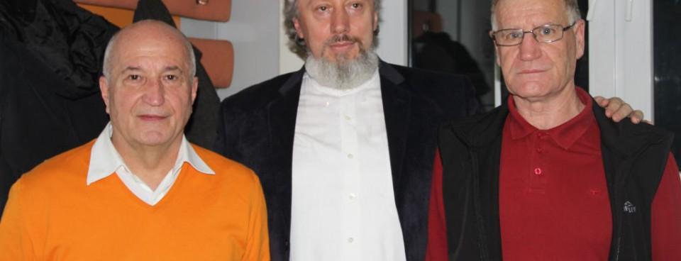 Prof. dr Dragan Martinović, prof. dr Predrag Nikić, prof dr Dragoljub Višnjić