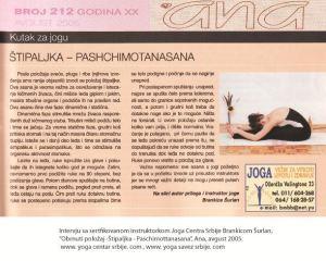 Intervju Brankica Šurlan,Asane-pachimotanasna