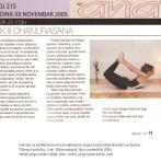 Intervju, Brankica Šurlan, časopis Ana, novembar 2005.