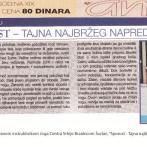 Intervju, Brankica Šurlan, časopis Ana, 2004.