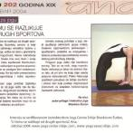 Intervju, Brankica Šurlan, časopis Ana, 2004