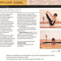 Intervju, Brankica Šurlan,˝Samosvest˝, časopis Ana, februar 2006.