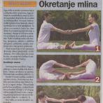 """Intervju, Miloš Štrbac, asana""""Okretanje mlina"""",Danas 2012."""