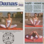 "Intervju, Miloš Štrbac, joga položaj ""Leptir"", Danas, 2011."