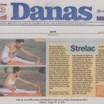 """Intervju, Aleksandra Mitić, o asani """"Strelac"""", Danas, 2011."""