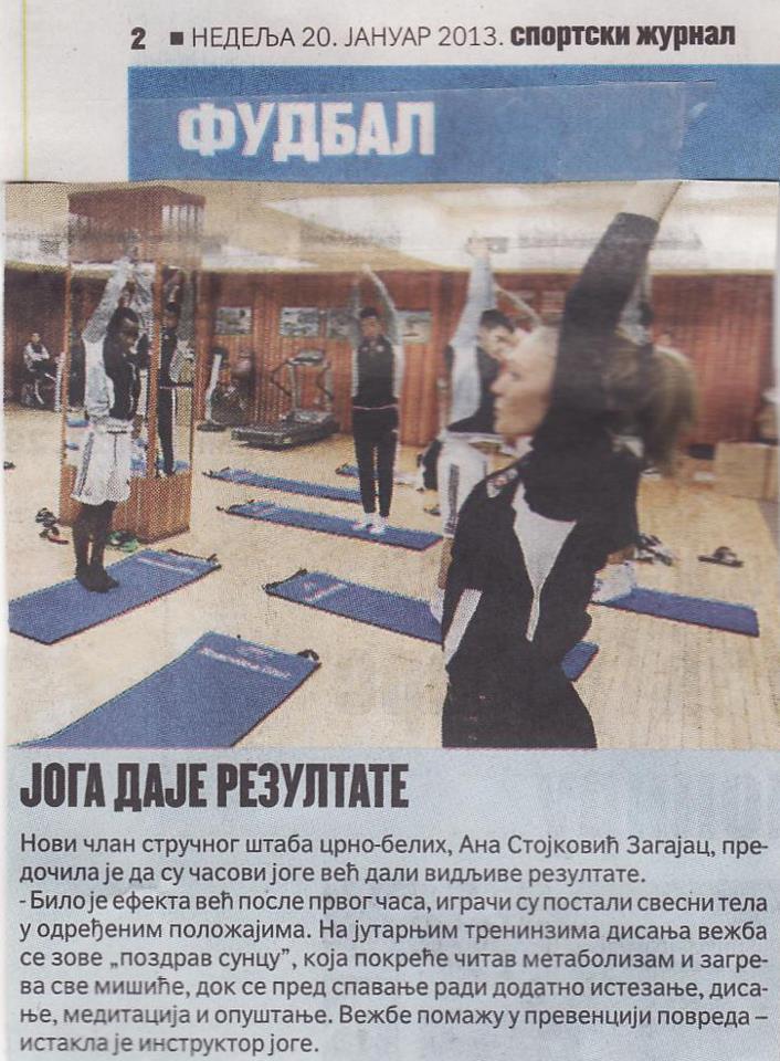 JSS u pripremi sportista Partizana
