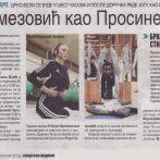 Fudbaleri Partizana vežbaju jogu, Sportski žurnal, 2013
