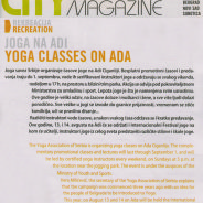 Joga Savez Srbije, Joga na Adi, City magazin, 2011.