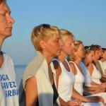 Joga na moru sa Joga savezom Srbije - Grčka, Nikiti 2015