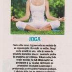 Akcija Vežbajte jogu sa nama, Cosmopolitan, 2011.