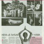 Joga savez Srbije – Međunarodni festival joge, Sportski žurnal, 2011.