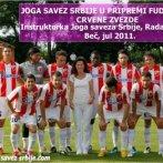 Joga Savez Srbije u pripremama fudbalera C. Zvezde, 2011