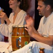 Kirtan grupa Samadhi, koncert u septembru 2014.