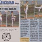 """Intervju, Aleksandra Mitić, """"Kraljevski plesač"""", Danas, 2011."""