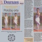 """Intervju, Aleksandra Mitić, asana """"Orao"""", Danas, 2011."""