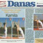 """Intervju, Aleksandra Mitić, asana """"Kamila"""", Danas, 2011."""