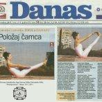 "Intervju, Aleksandra Mitić, ""Položaj čamca"", Danas, 2011."