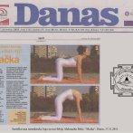 "Intervju, Aleksandra Mitić, asana ""Mačka"", Danas, 2011."