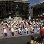 Međunarodni joga performans, Beograd, 2014