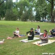 """2011. Akcija """"Vežbajte jogu sa nama"""""""