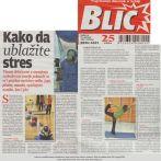 Intervju, Vukica Janković, Joga savez Srbije, Blic