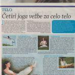 Intervju, Vukica Janković, Joga savez Srbije, Panorama, 2009.