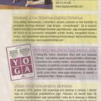 """Najava novog broja naučnog časopisa o jogi """"Smisao"""", 2015."""