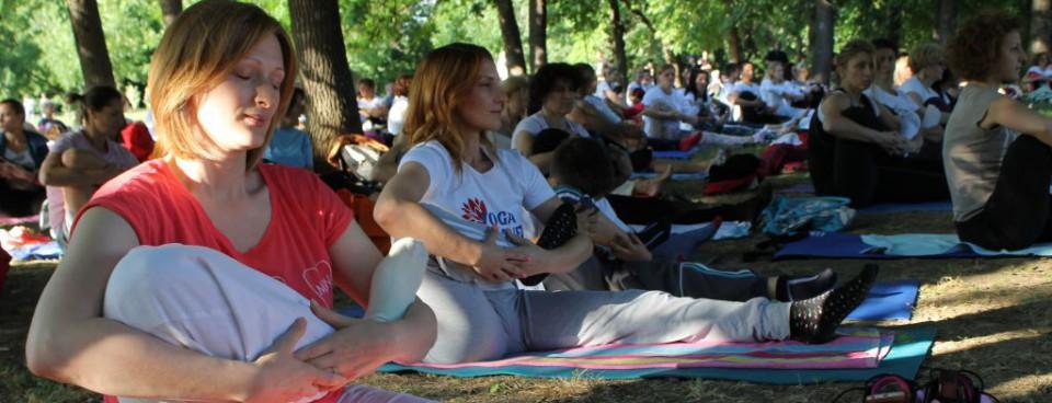 besplatni časovi joge - vežbajte jogu sa nama - Joga savez Srbije