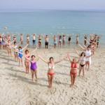 Joga na moru sa Joga savezom Srbije 2014