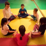 Seminar za jogu sa decom, 2016.