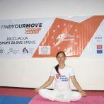 Move week – učešće Joga saveza Srbije, 2014