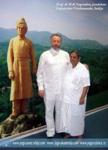 Prof. dr Predrag K. Nikic and Prof. dr H.R. Nagendra