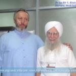 Prof. dr Predrag K. Nikic and Dr Sat Bir S. Khalsa