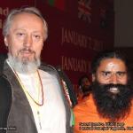 Swami Ramdev and Prof. Predrag K. Nikic