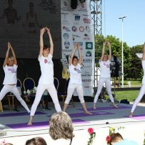 Art joga Similiris na Spa festivalu 2016.