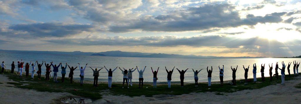 Joga na moru sa Joga savezom Srbije